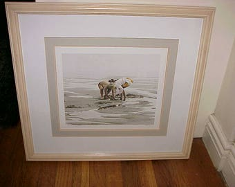 Paul Rupert Limited Edition Print Sand Ducks 90/750
