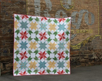 Summer Blooms Quilt by Lilabelle Lane Creations
