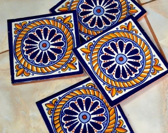 40 Mexican Tiles  6x6 or 90 Talavera tiles 4x4