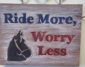 Vintage Barn Wood, rustic horse sign, horse bit, horse quote wood sign, wood horse sign, rustic, Western, horse sign, gifts for horse lovers