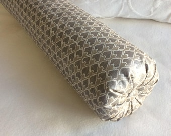 DIEGO bolster pillow 6x22 in champagne