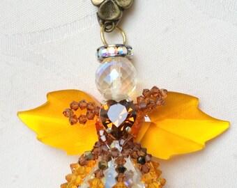 "keyring jewelry bag ""angelo"" topaz"