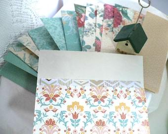 Cash Envelope System, Envelopes, Cash System, Envelope System, Wallet Envelopes, Graduation Gift, Teacher Gift, Floral, Birds, 7 Inch,