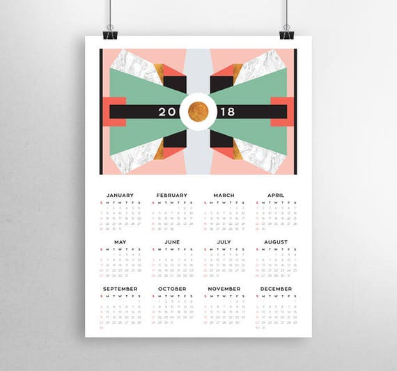 yearly calendar 2018 2018