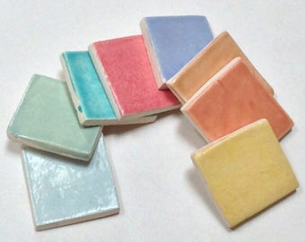 Tile glaze samples, Get sample of glazes, Kitchen, bathroom or fireplace samples