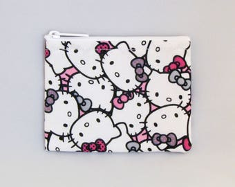 Pastel Hello Kitty Coin Purse - Coin Bag - Pouch - Accessory - Gift Card Holder