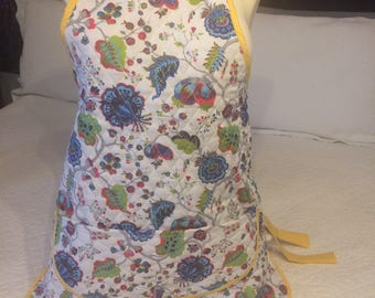 Quilted adult apron
