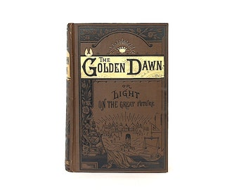 The Golden Dawn - Death - Dying - Eternal Life - Afterlife Artwork - Funeral Customs - Antiquarian Book - Christian Spirituality