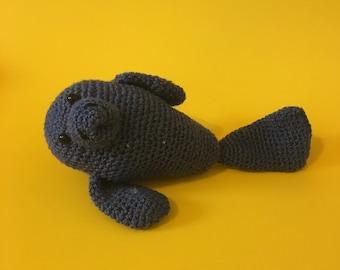 Rhonda the Manatee Crochet Kit