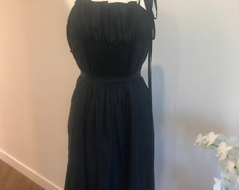 Scanlon & Theodore Silk Pleated Dress