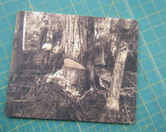 Mouse Pad - Lumberjack 1917 picture