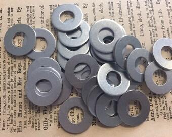 10 Aluminum 7/8 Inch Washers