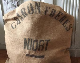 "Hemp bag ""Charon brothers - Niort"""