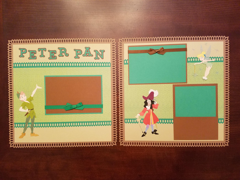 Disney Peter Pan Scrapbook Layout 2 Page 12\