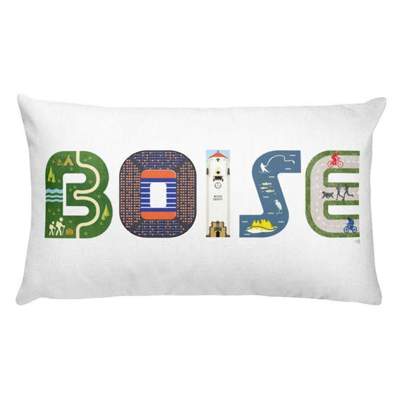 Rectangular Pillow: Boise