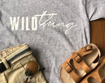 Wild thing kids tshirt