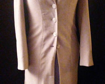 Vintage 70's Tailored Wool Coat