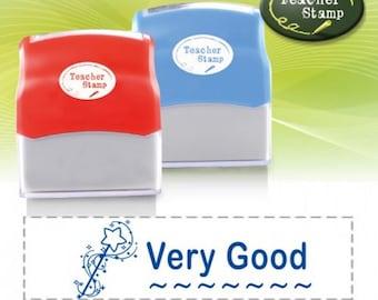 Self-Inking Teacher Stamp - Very Good - DS019