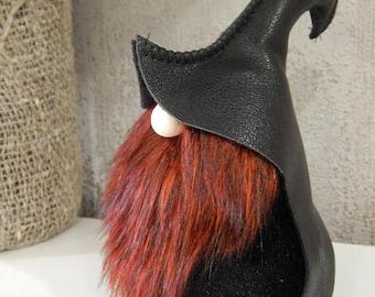 Black Scandinavian Gnome, Cool Boyfriend Gift