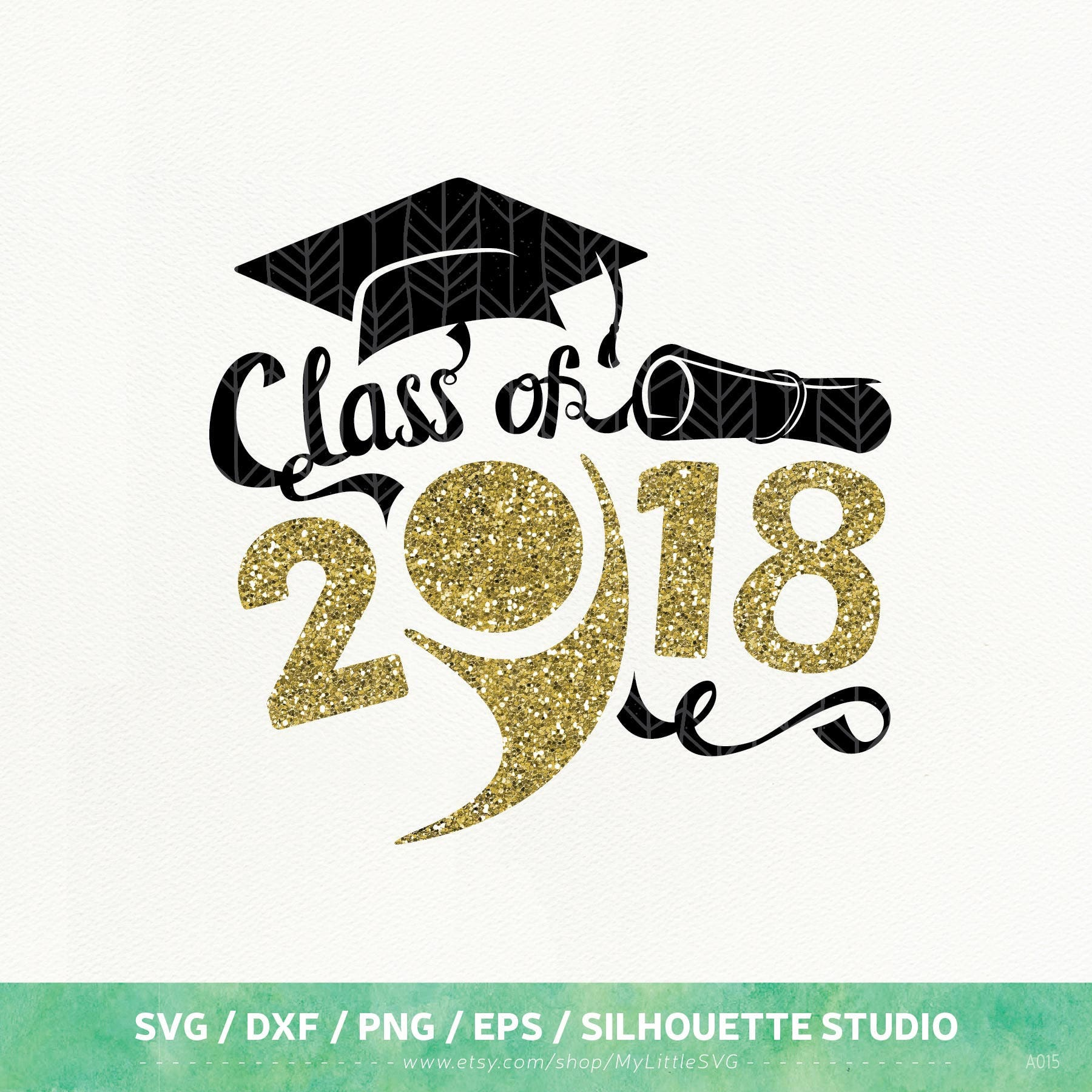 Graduation Svg Files Graduation 2018 Dxf Png Eps For