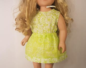 """American girl- 18"""" doll Shirt/skirt outfit"""