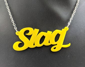 SLAG Necklace - Yellow