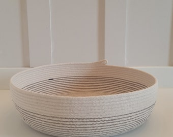 Made to Order Large Rope Bread Basket