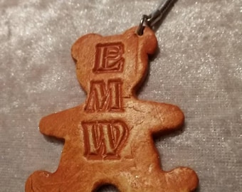 Teddy bear key ring, key chain