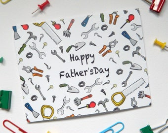 DIY Tools Father's Day Card