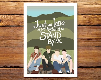 """Stand By Me - 5""""x7"""" Giclee Print"""