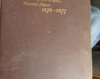 1877 edition The Parish Choir volume first 1874-1877 by Charles Hutchins