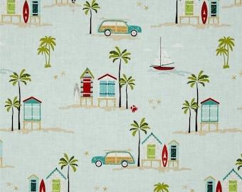 Beach Huts by Deena Rutter for Riley Blake C4920 Aqua