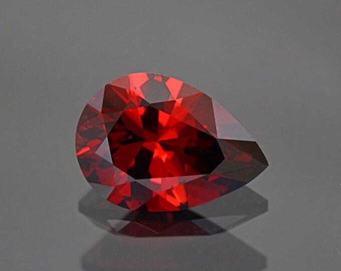 Rich Red Orange Umbalite Garnet Gemstone from Tanzania 5.25 cts.