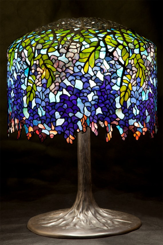 Tiffany lamp tiffany wisteria bespoke glass stained glass tiffany lamp tiffany wisteria bespoke glass stained glass home decor wisteria tiffany replica desk lamp table lamp standing lamp mozeypictures Image collections