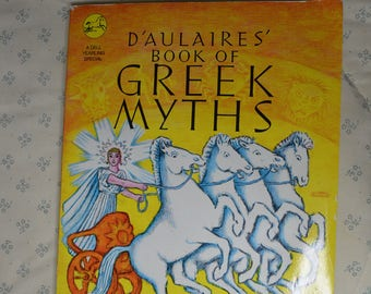 ON SALE  Book-D'Aulaires Book of Greek Myths- Ingri  & Edgar Parin D'Aulaire