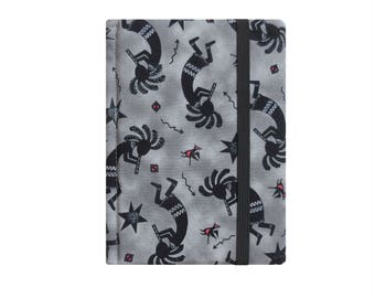 Kindle Paperwhite Case Kindle Paperwhite Cover Kindle Case Paperwhite Sleeve Kindle Cover Hardcover with Pocket, Southwest Kokopelli Gray