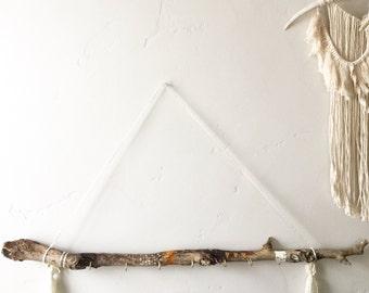 Custom driftwood accessory holder - you pic colors