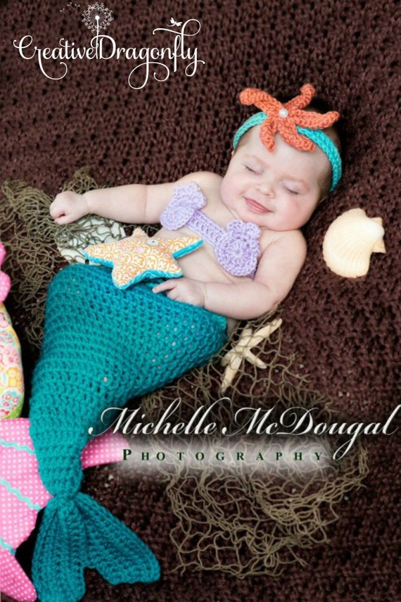 6 month old baby halloween costumes source turquoise newborn mermaid costume 0 to 3 month mermaid tail