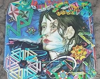 Todd Rundgren A Wizard A True Star Record Album 1973 Bearsville Records Die Cut Cover & Sleeve
