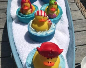 Pirate Rubber Duck Soap