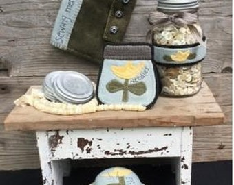 """New PATTERN from Wooden Spool Designs """"Sewing Storage"""""""