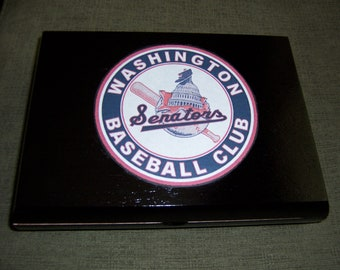 Washington Senators Cigar Box Baseball Stadium