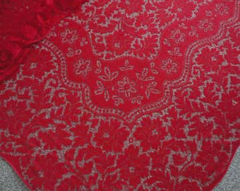 UNUSED Banquet Quaker Lace Tablecloth 104x70