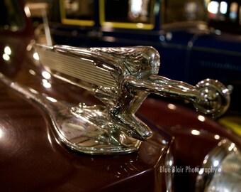 1939 Packard Model 1700 Hood Ornament print