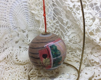 Vintage ornament by Marilyn Ericson