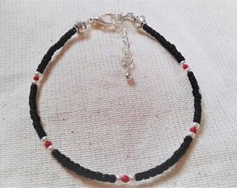 Ethnic bracelet gemstones