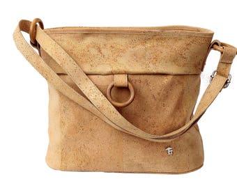 Cork bag, shoulder bag, handbag, cork bag, bag, Crossbody bag