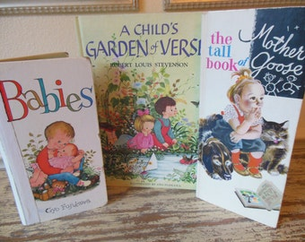 Baby Books- Library Starter Collection-Vintage Books-Baby Gift