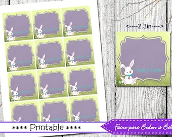 Homemade gift tag etsy easter tags easter gift tags printable printable tags easter tags homemade easter negle Gallery