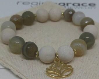 Fall yoga retreat bracelet
